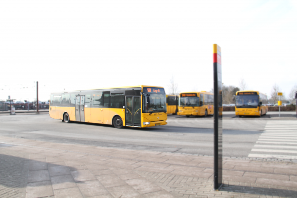 Bus i fart