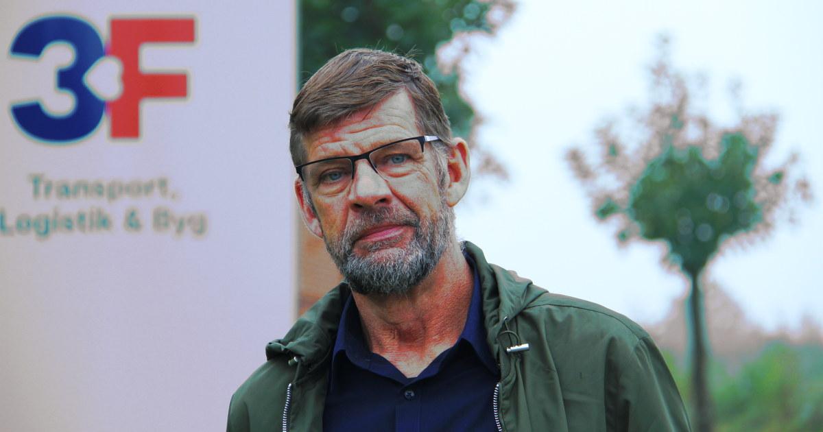 Portræt af Hans Horsten, arbejdsmiljørepræsentant & -organisator
